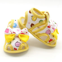 Bow Autumn Brand Cartoon First Baby  Girl Shoes Sandals