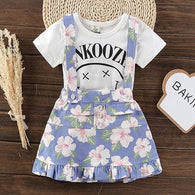 Clothing Sets 2pcs Floral Summer Outfit Set