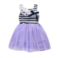 summer 2018 New baby girl ball gown dress lace+cotton