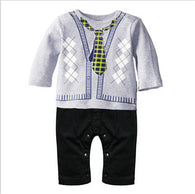 Toddler Baby Boy Rompers Spring Baby Clothing Sets