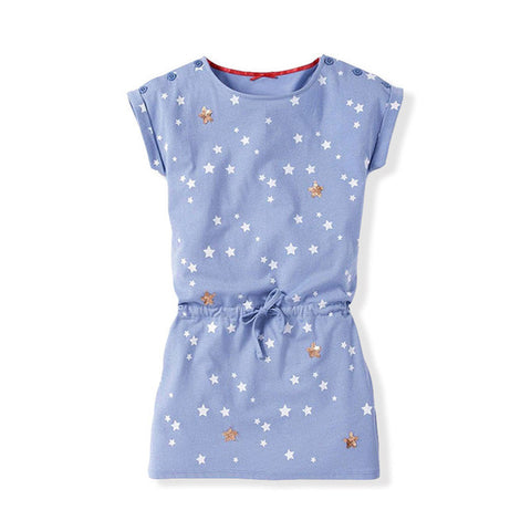 2018 Casual Girls Dress Cotton Sport