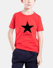 black star posters printing  t-shirts short sleeve
