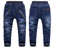 New Spring Handsome Boy Cartoon Jeans