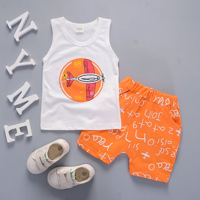 Boys Clothing Suits Summer
