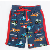 new style summer cotton boys scanties with letter printed