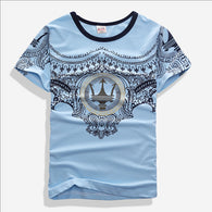 Fashion Short-sleeved T-shirt For 7-14 years