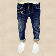 Jeans Elastic Waist Stretch Denim