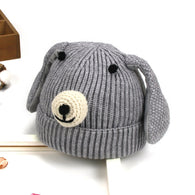 Cute Cartoon Warm Knit Hat