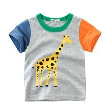 2018 Summer Cartoon Animal T-shirts