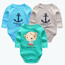 3pcs/lot Summer Baby Bodysuits tiny cottons