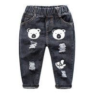 Cartoon Bear Pants For Boys