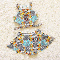 Two Pieces Bikini Skirts For Girls