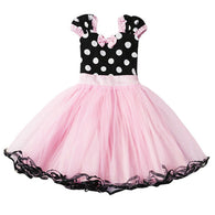 Sleeveless Bowknot Cosplay Party Tulle Tutu Dress
