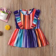 Rainbow Colorful Dress