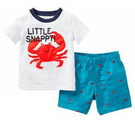 Summer Casual Boys Clothing Suit