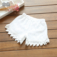 Baby Cutout flower shorts