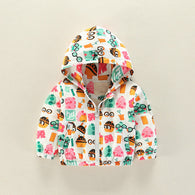 Fashion Hamster Hooded Zipper Coat