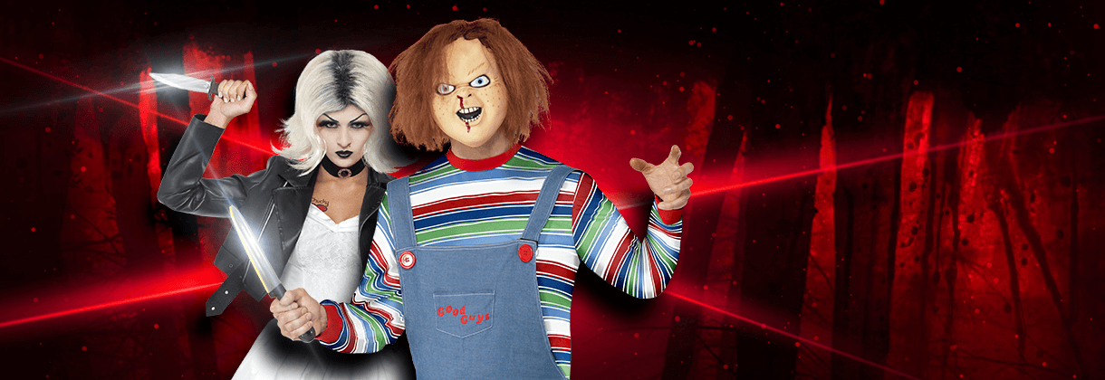 Chucky fancy dress costumes