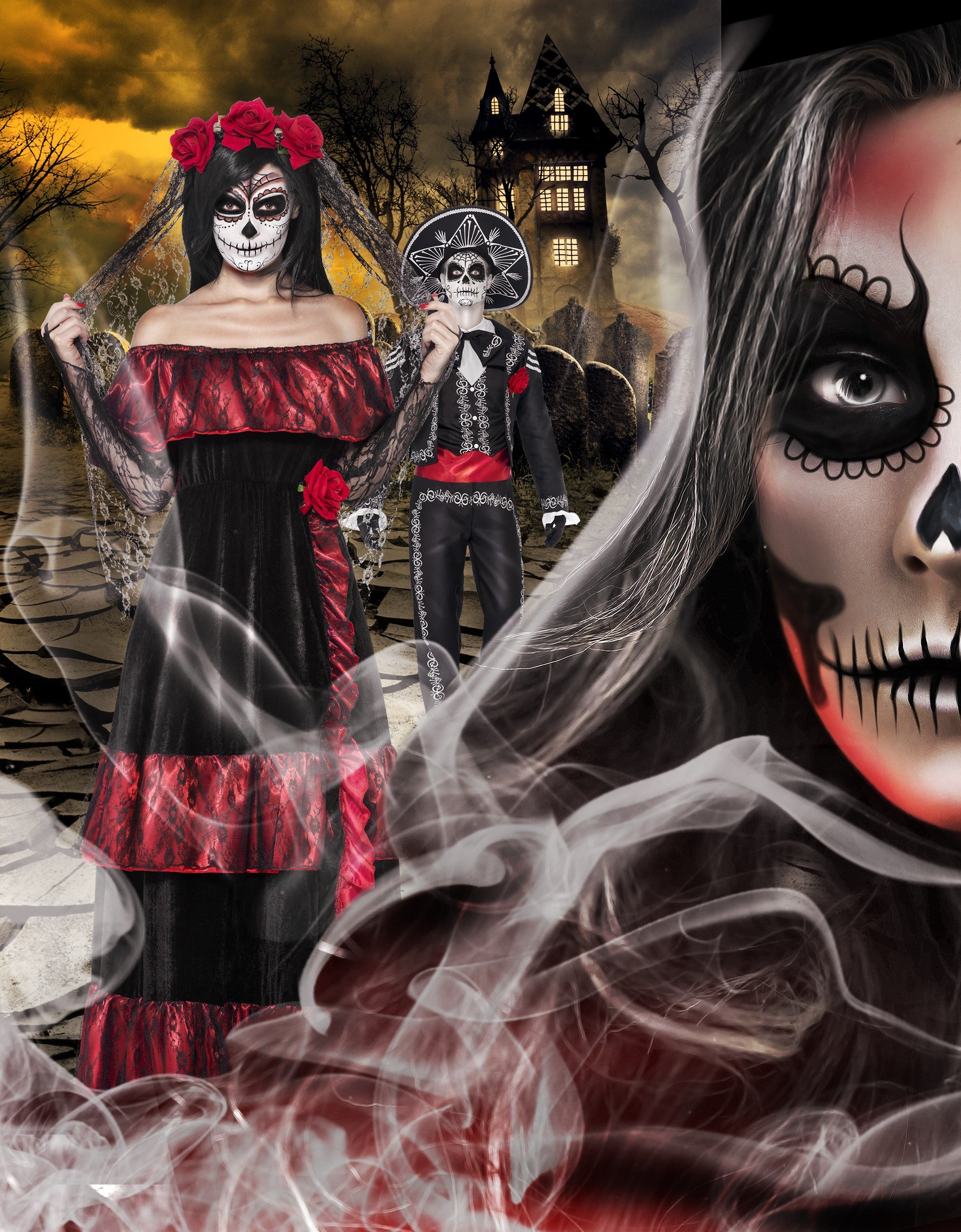 Halloween Day of the Dead Festival Costumes