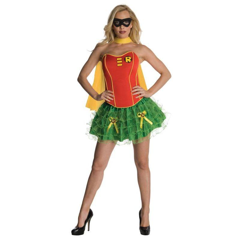 Secret Wishes Dc Comics Robin Corset And Tutu Costume