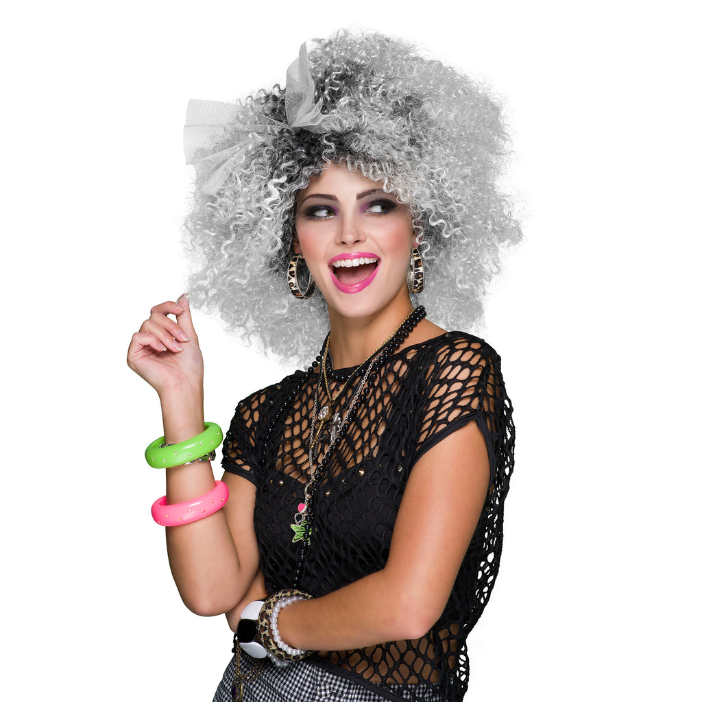 80s Pop Icon Two-Tone Wig