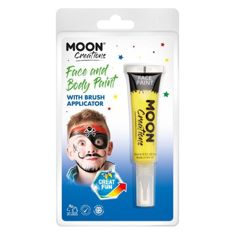 Moon Creations Face & Body Paints, Yellow