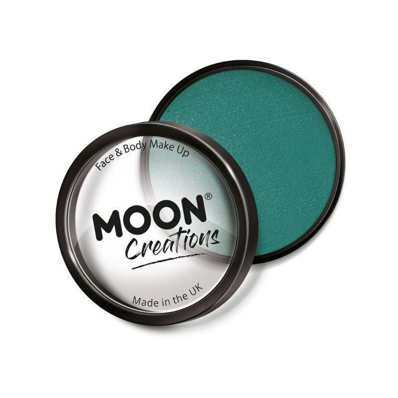 Moon Creations Pro Face Paint Cake Pot, Teal