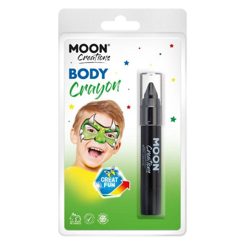 Moon Creations Body Crayons, Black