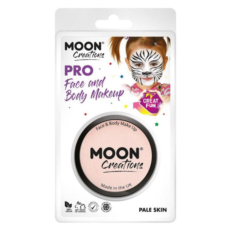 Moon Creations Pro Face Paint Cake Pot, Nude