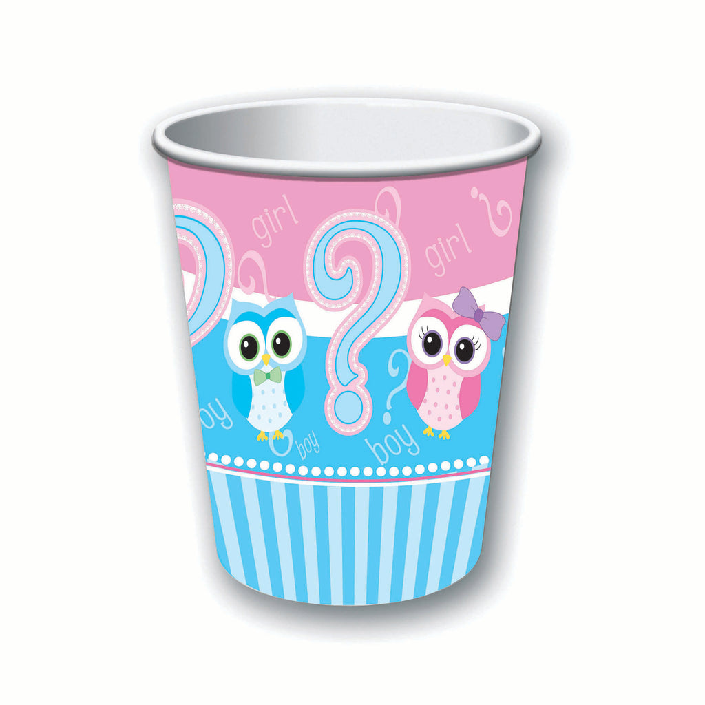 Gender Reveal Cups