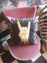 Cushion Cover - Metal Fingers Printed Organic Cotton