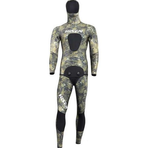 3.5mm Men Neoprene Diving Suit Split Wetsuit