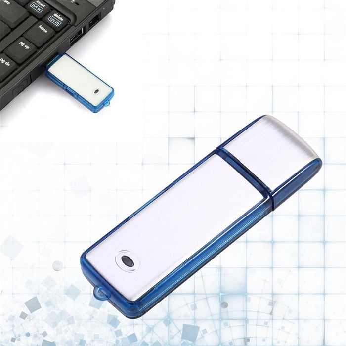 Digital voice recorder USB flash drive hidden microphone