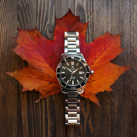 Canadian watch company, whitby watch co, luxury watch, diver watch, intrepid diver