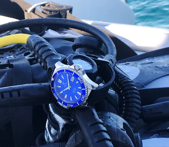 Whitby Watch Co, Intrepid dive watch, whitby ontario, jay harrison, greg tsagris, horology, canadian watches, dive watch, swiss movement,, camp x inspired