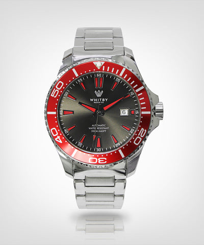 Intrepid 007 Diver Watch, Whitby Watch Co, Luxury watches, Canadian timepieces, watch, diver watch, Canada timepiece, super-luminova, Swiss movement