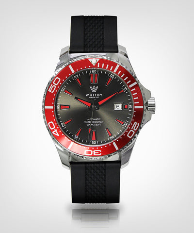 Intrepid 007 Diver Watch, Whitby Watch Co, Luxury watches, Canadian timepieces, watch, diver watch, Canada timepiece, superluminova, Swiss movement