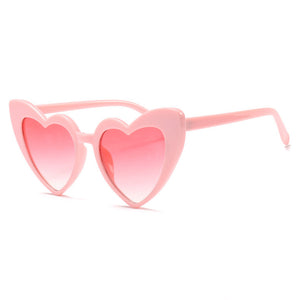 Bettie Heart Cat Eye Sunglasses