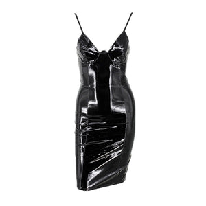 Drusilla Vinyl Dress