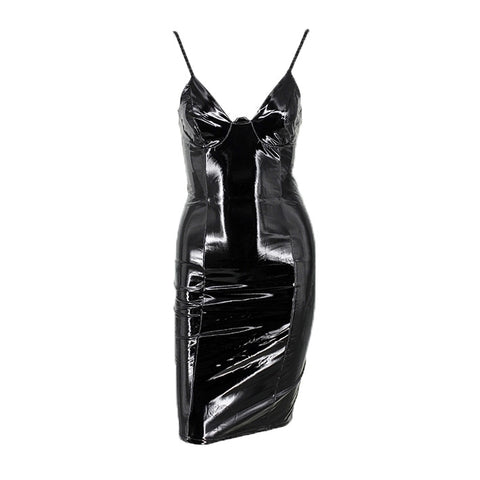 Image of Drusilla Vinyl Dress