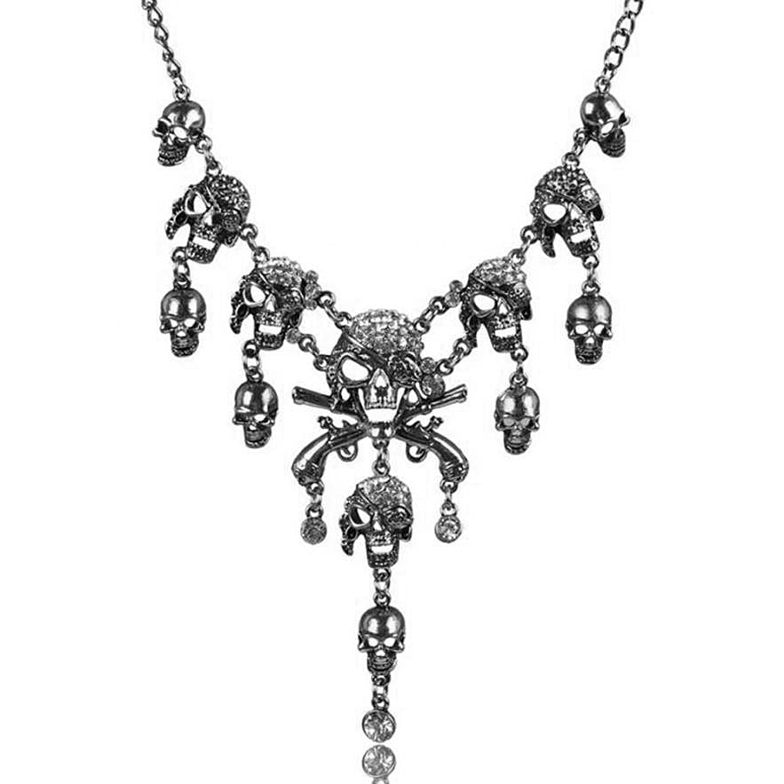 Diablito Skull Necklace