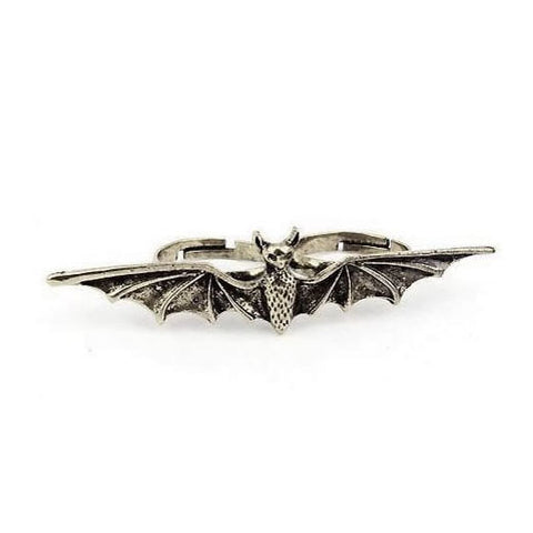 Bat Two Finger Ring