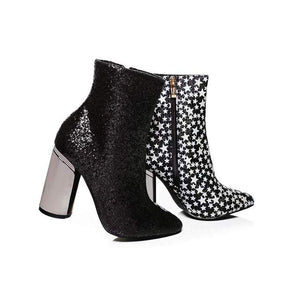Onyx Ankle Boots