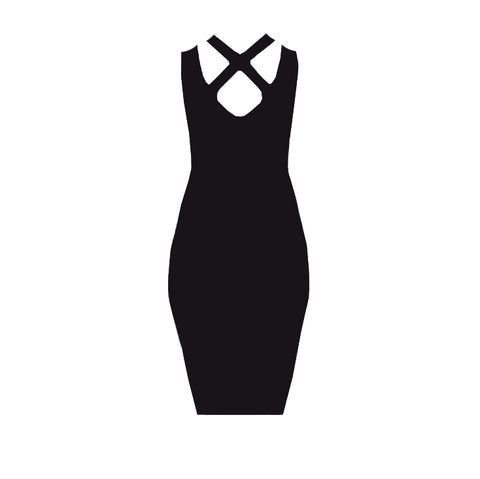 Image of Uncrossed Dress