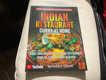 INDIAN RESTAURANT CURRY AT HOME VOLUME 2 - PAPERBACK (First Edition)