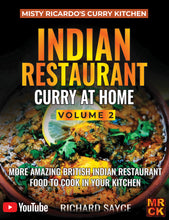 Pre-Order INDIAN RESTAURANT CURRY AT HOME VOLUME 2 - PAPERBACK