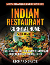 INDIAN RESTAURANT CURRY AT HOME VOLUME 2 - PAPERBACK (Revised Edition)
