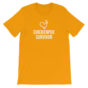 """Chickenpox Survivor"" Unisex Tee"