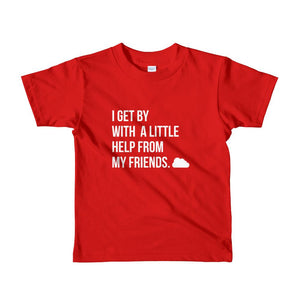 I Get By Kids Tee Red / 2Yrs T-Shirt
