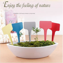 10 pcs/Set T-type Tags Markers Nursery Garden Labels - stilyo